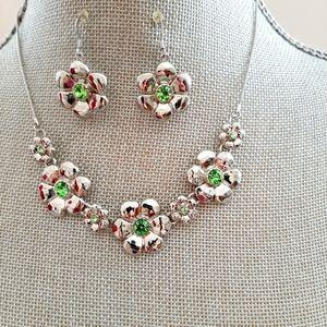 💟2/$30💟 Flower Jewelry Set